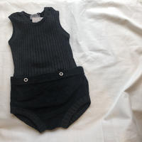 1+in the family AYALA two pieces romper(black)