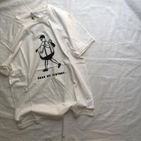 ARCH&LINE OG LAUNRY MAN  TEE(WHITE) FREE