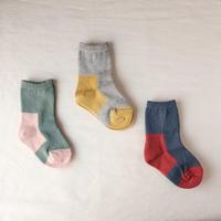 GEMINI  双子座の靴下 11-13cm  /  KARMAN LINE(カーマンライン)