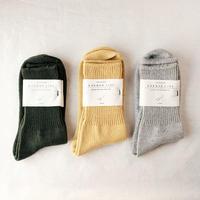 NORMA 定規座の靴下  25-27cm  /  KARMAN LINE(カーマンライン)