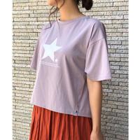星柄半袖tシャツ
