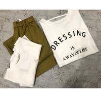 ariko様y.g.パンツ&tシャツ2点