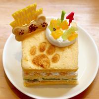 わんちゃん用 こめこわんこ バースディケーキ 7cm