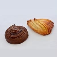 クロワッサンスコーンとチョコデニッシュスコーンのセット