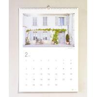 行ってみたいフランスの村カレンダー2019