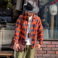 FULLCOUNT / BUFFALO CHECK PLAIN SHIRTS