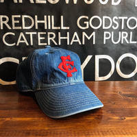 FULLCOUNT / DENIM 6PANEL BASEBALL CAP (加工)