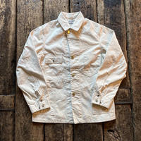 FULLCOUNT / WHITE CANVAS COVERALL JACKET