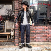 FULLCOUNT /  0105 LOOSE STRAIGHT(ONE入りレザーパッチ)