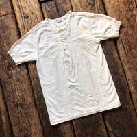 STEVENSON OVERALL CO. / Loop Wheel Short Sleeve Henley