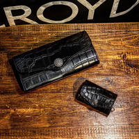 "FUNNY / BOX COIN CASE ""Black Crocodile""(VictorConcho)"