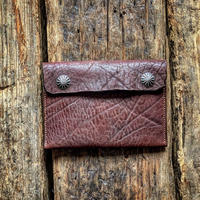 Dutch Leather Company × Japanese Silver Smith MASAYOSHI clutch bag Apollo