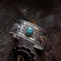 DUCKTAIL /  turquoise バングル