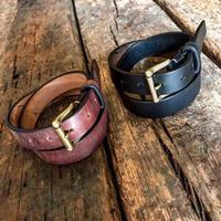 Dutch Leather Company / belt (Wax finich) 30mm