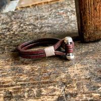 茂木 様 専用 Dutch Leather Company × Japanese Silver Smith MASAYOSHI アレイブレス
