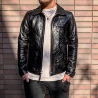 FOUNTAINHEAD LEATHER【Alpha / アルファ】【BLACK】10月末~11月末入荷予定!!ご予約受付中!!