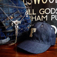 FULLCOUNT / 6PANEL DENIM BASEBALL CAP