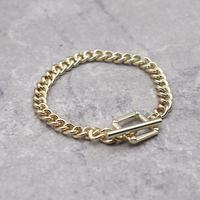 Mantel chain Square Bracelet (GOLD)/ BR-026