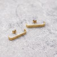 Geometric Irregular Shape Pierce(GOLD) / 2102-PR041