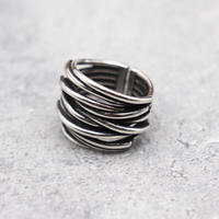 Lots line wide ring(SLV) / 2101_RG056