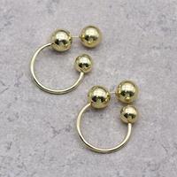Three ball hoop Pierce(GLD) / 2102-PR042
