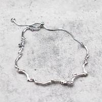 Wave Bracelet (SILVER)/ BR-024