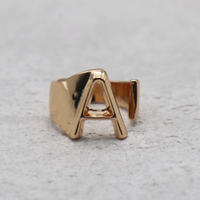 Initial ring(PINK GOLD / A) /  RG-GL045