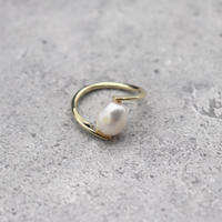one pearl put ring(GOLD) / 2101-RG062