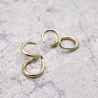 Double Circle Twisted Pierce(GOLD) / 2102-PR039