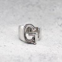 Initial ring(SILVER / G) /  RG-SL045