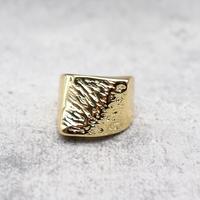 Craft henkei wide ring(GLD) /  2101_RG046
