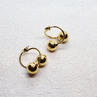 Double ball  Pierce(GOLD) /  PR-146