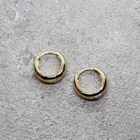 Mini hoop pierce(GLD)/  PR-116