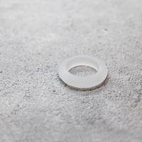 Acrylic  ring(Frosted  white) /  RG-027