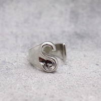 Initial ring(SILVER / S) /  RG-SL045