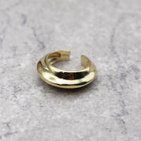 Middle line Adjustable ring(Gold) / 2102-RG004