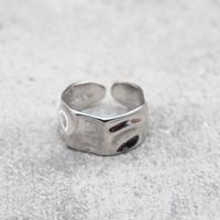 Craft wide ring(SLV) /  2101_RG045
