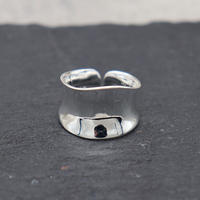 Metal cylindrical  ring(SILVER) / 2103-RG068