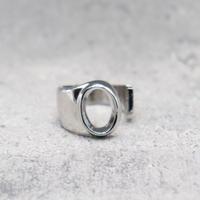 Initial ring(SILVER / O) /  RG-SL045
