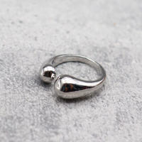 Dropfork ring(SILVER) /  2101_RG044