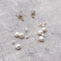 string freshwater pearl pierce(Pearl)/  2103-PR099