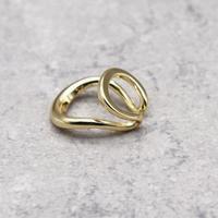 Double Layer Bending Ear Cuff (GOLD)  / EC-039