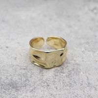 Craft wide ring(GLD) /  2101_RG045