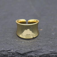 Metal cylindrical  ring(GOLD) / 2103-RG068