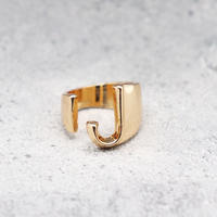 Initial ring(PINK GOLD / J ) /  RG-PG045