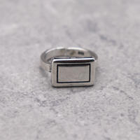 Vintage square ring(S925 Silver) / 2103-RG013