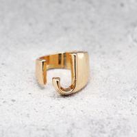 Initial ring(PINK GOLD / J ) / RG-GL045