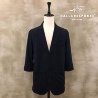 5分袖カットテーラードジャケット CALL&RESPONSE 201-1105-01