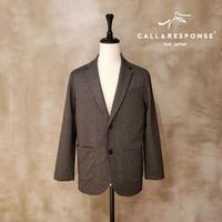 メランジポンチテーラードジャケット CALL&RESPONSE 192-1101-01