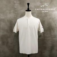 18ゲージニット半袖ポロシャツ CALL&RESPONSE 201-1488-06
